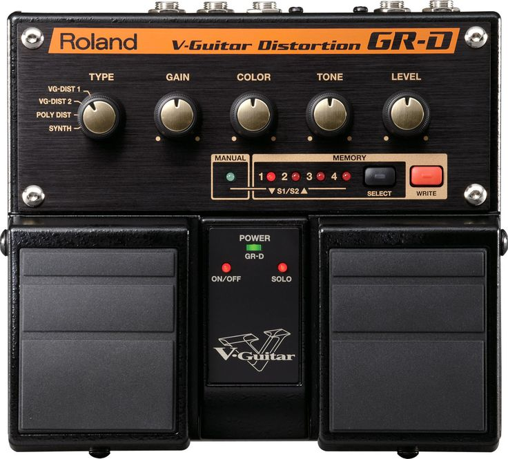 GR-D V-Guitar Distortion: GK Power in a Twin Pedal Stompbox