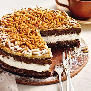 Kaffee-Sambuca-Torte