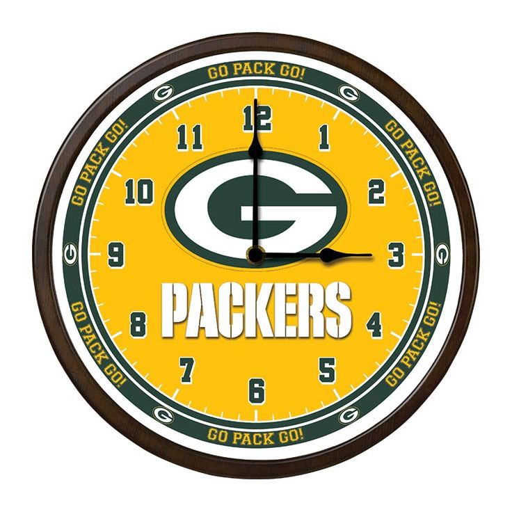 The Green Bay Packers Game Time Clock | The Danbury Mint