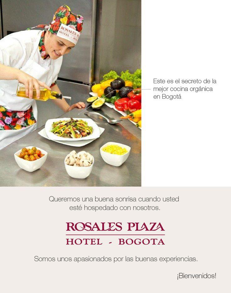 Este es el secreto de la mejor comida organica de  Bogotá