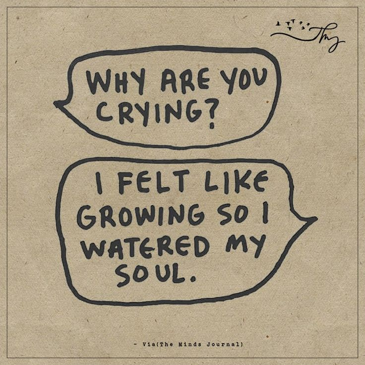 Why are you crying - http://themindsjournal.com/why-are-you-crying/