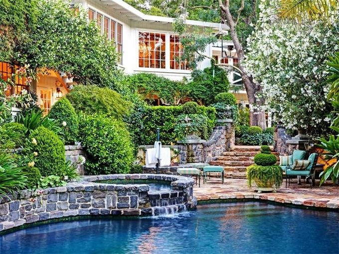 358 best dream home images on pinterest for Country pool ideas