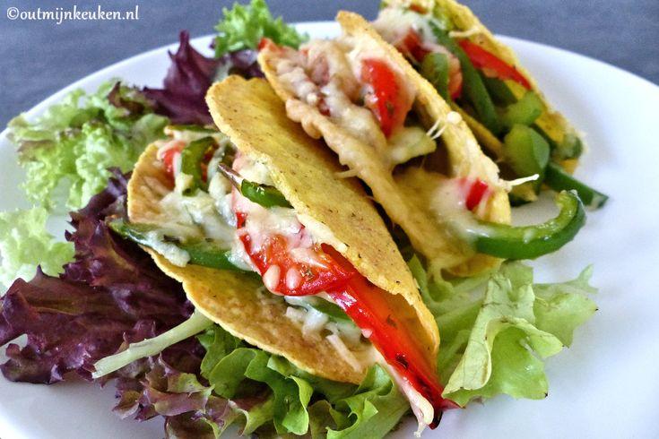 Vegetarische taco's met kaas – recept