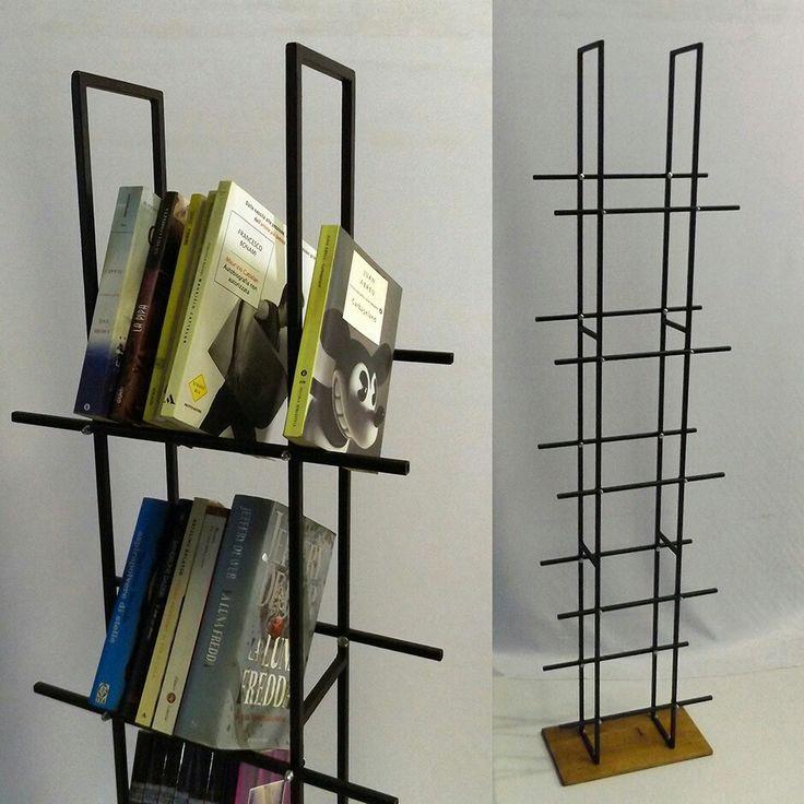 Hondana la libreria senza piani.  Realizzabile su misura. www.brunopetronzi.it