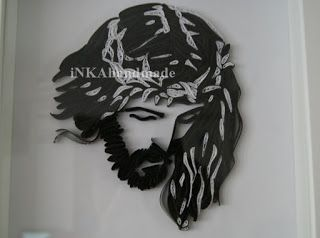 "Jesus Christ is the most difficult (so far) quillingowe ""work "" that I created . I was looking for an idea for a gift for friends and found inspiration on the page with patterns for embroidery http://www.coricamo.pl/product,2372,wzor-graficzny.htm . Later, by chance I found a fantastic site of the Croatian artist Gordana Mudri ( http://quilledpaperparadise.blogspot.com/ ) , who performed the same Jesus quillingu technique , which definitely helped me the realization of my idea. Execution of…"