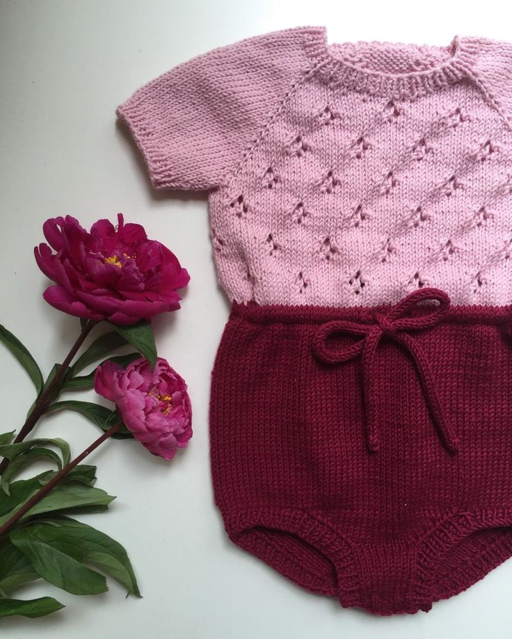 Maries Romper via PetiteKnit. Click on the image to see more!