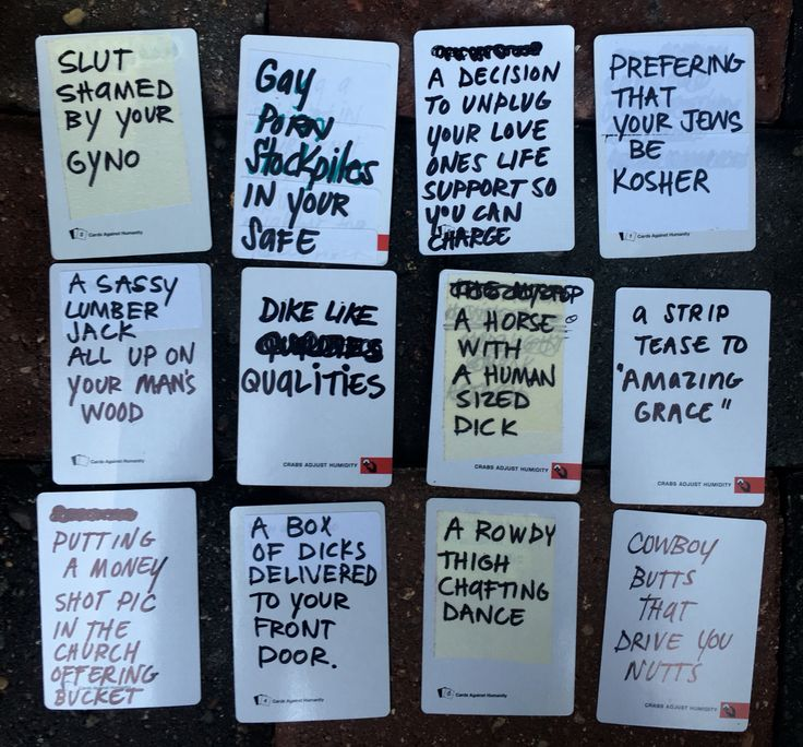 Awesome blank card ideas for cards against humanity game DIY WRITE YOUR OWN HILARIOUS CARDS AGAINST HUMANITY