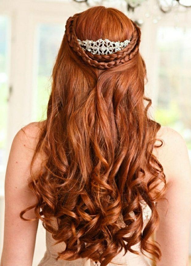 12+ Hochzeitsfrisuren rote haare Information