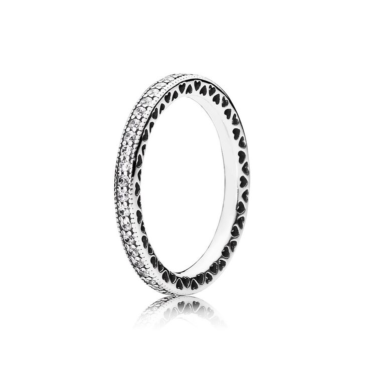 The MOST beautiful promise ring Hearts of PANDORA, Clear CZ - 190963CZ $65.00