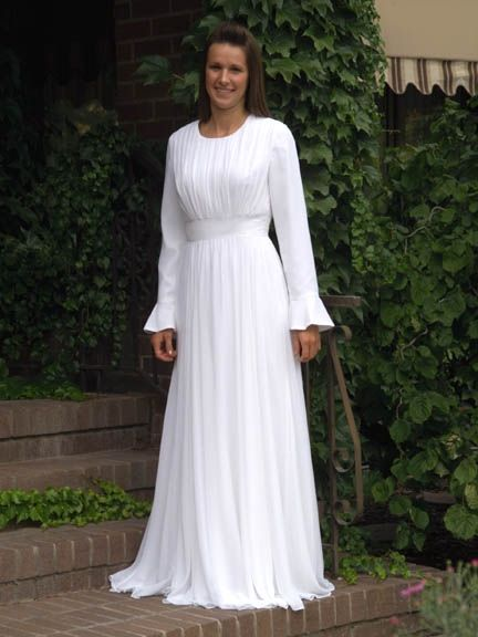 LDS Temple Dress - Blessings and Baptisms  Find more LDS greats at: MormonFavorites.com