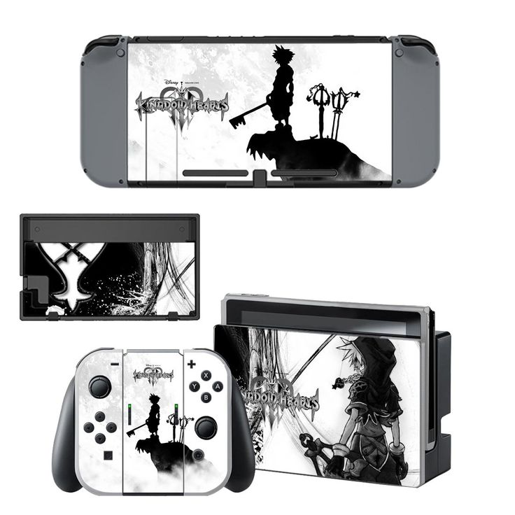 Kindom hearts vinyl decal for Nintendo switch console sticker skin