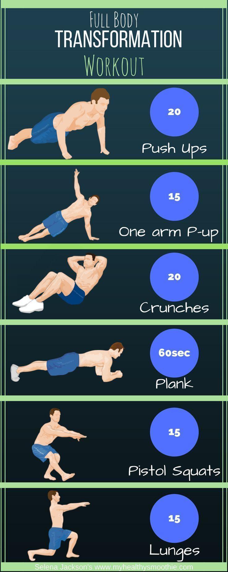 Ganzkörper-Transformations-Workout-Brust, ABS, Rücken, Bizeps, Trizeps, Beine – Silvio Stöltzel