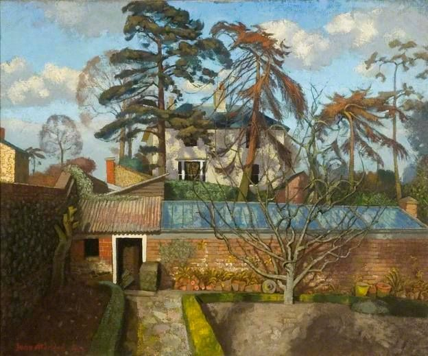 """February Afternoon"" by John Aldridge. Recently discovered this painter and have become quite fond of his work."