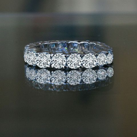 51 best Simulated Diamond Wedding Rings images on Pinterest