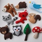 Keçe ile yapılan minik sevimli hayvan oyuncaklar,süsler çokmu çok şirinler. İçlerine az miktarda elyaf veya pamuk koyarak özek keçe dikişi teknikleriyle dikebileceğiniz Hayvanlar. Eğer el beceriniz…