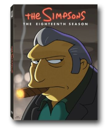 The Simpsons DVD Releases Resuming With Season 18  The Simpsons will get another DVD release after all.  Twentieth Century Fox announced at Comic-Con that Season 18 of The Simpsons will come out December 5 on DVD. It's a surprising turnaround for the series after showrunner Al Jean previously said in 2015 that no more Simpsons DVDs would be released because of a dying market.   The box art for the DVD release of The Simpsons: Season 18. It comes out December 5. (Photo courtesy of Twentieth…