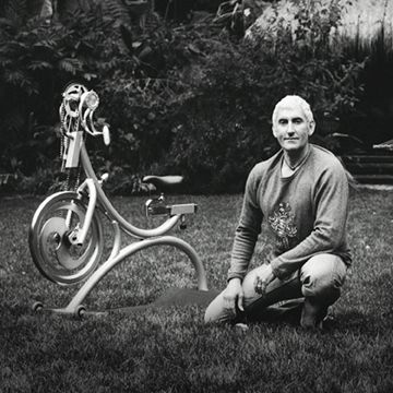 Johnny Goldberg - aka - Johnny G, the creator of Spinning and the inventie of Kranking. The 1st man who brought cycling indoor and made it possible to ride standing on a stationery Cycle.