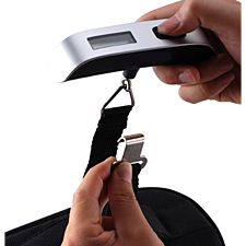 Up to 110 /Lbs Luggage Scale with Temperature Sensor save on Excess Baggage Fee.