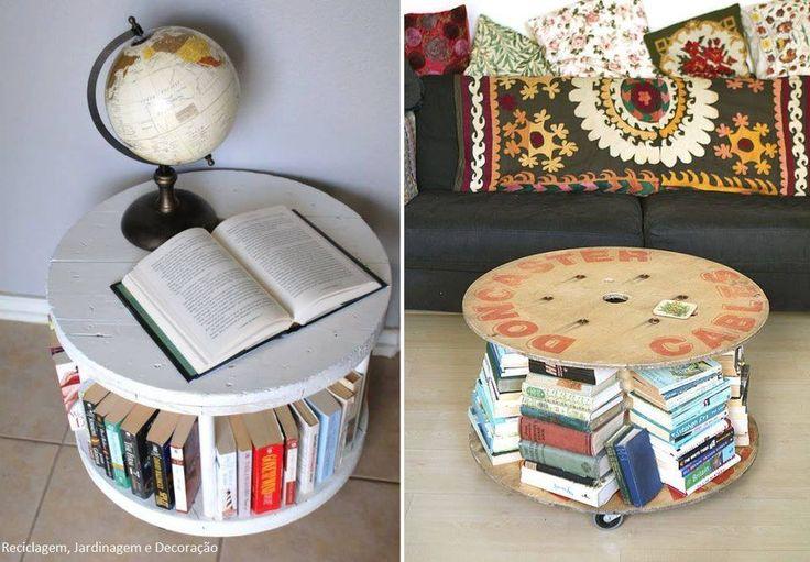 Biblioteca reciclada