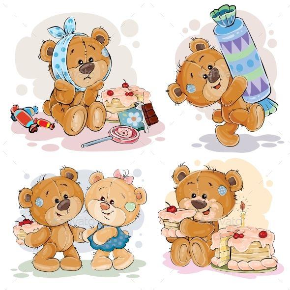 Illustrations with Teddy Bear