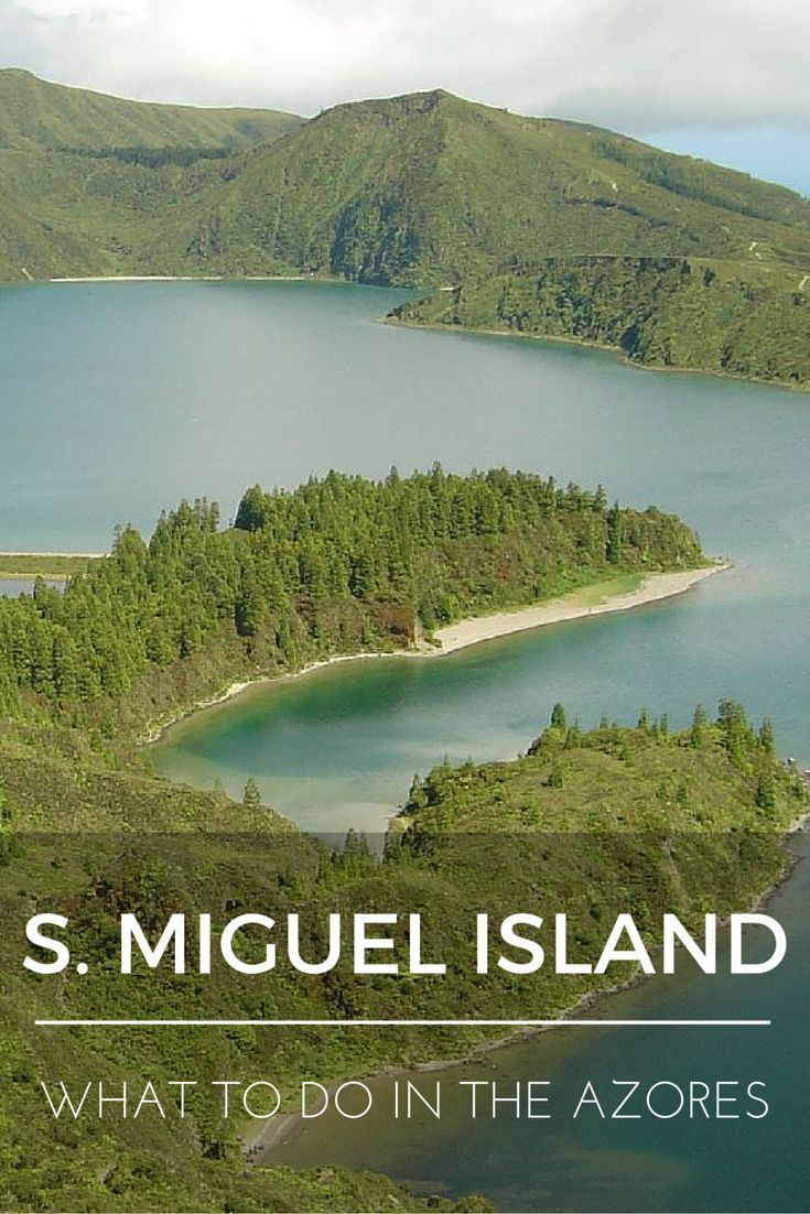 """""""What to do in the Azores: Sao Miguel Island"""" is the second installment of a series of nine blog posts about the Azores islands. The posts are meant to give you a detailed overview of each one of them to help you plan your trip, whether you decide to visit one, two, or all nine."""