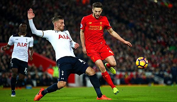 Premier League: Wo kann ich Tottenham gegen Liverpool live sehen?
