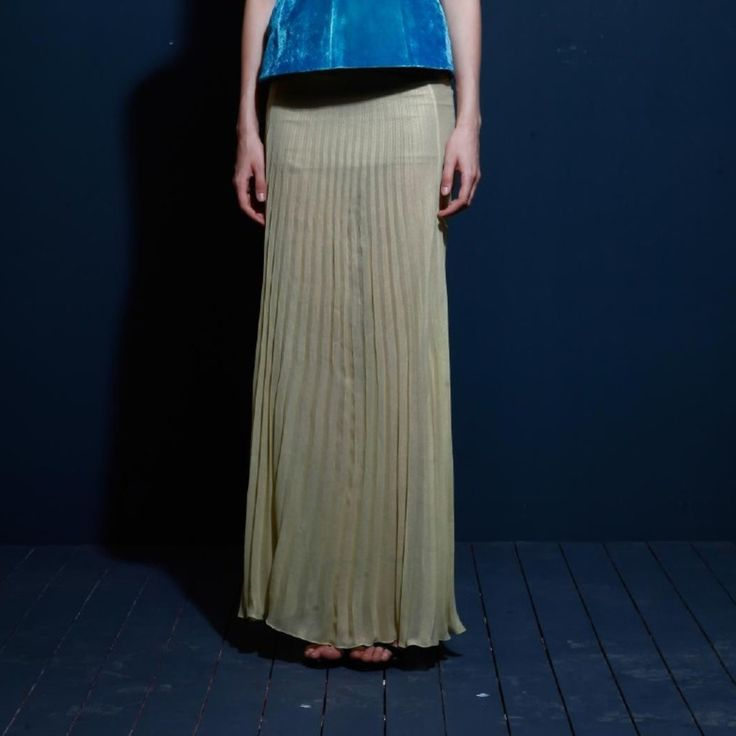 Pleated skirt on TROVEA.COM