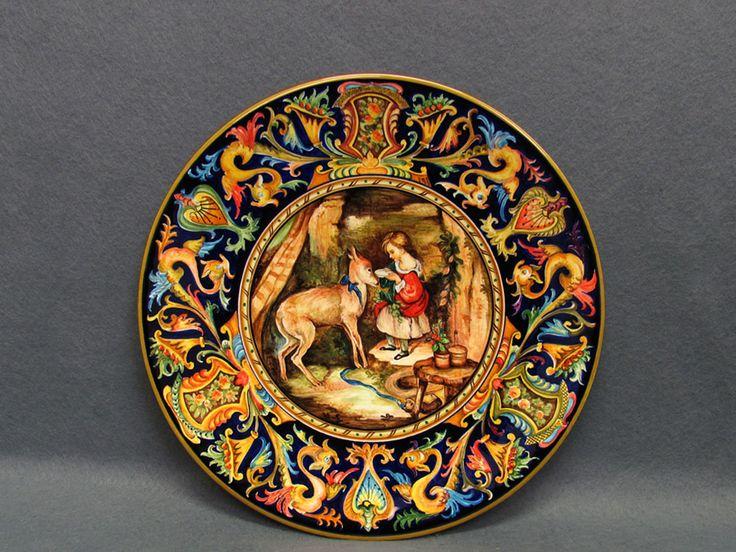 Piatto ceramica Faenza 30 cm