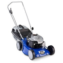 how to start a victa lawn mower