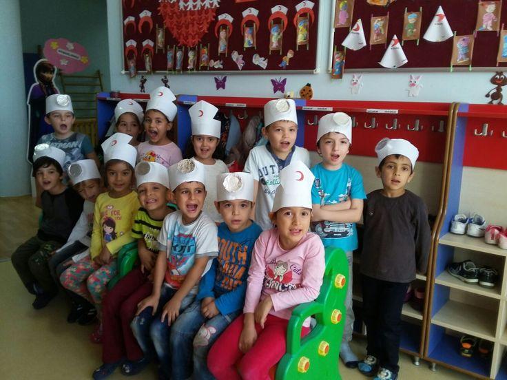 Anasınıfında Kızılay Etkinlikleri - Merter Eğitim Kurumları