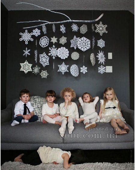 снежинки из бумаги (большая подборка схем)