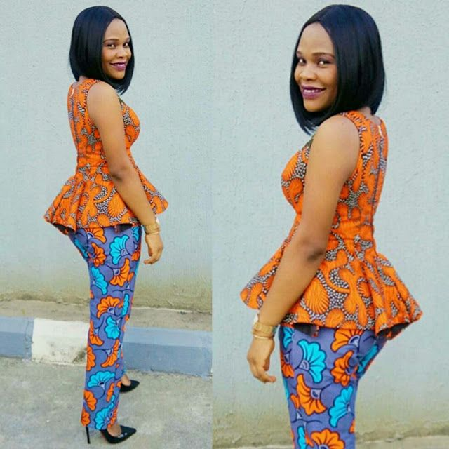 Ankara Skirt and Blouse Lovely Combination Styles - DeZango Fashion Zone