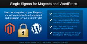 Để tích hợp WordPress và Magento