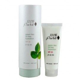 100% Pure Green Tea Oil Free Hydration Spf 30
