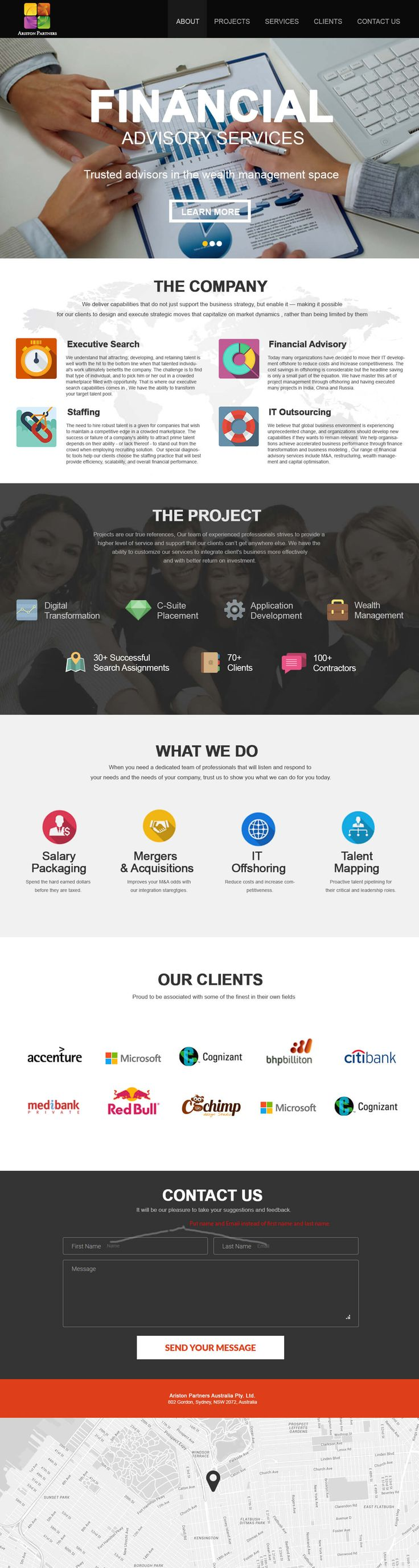 37 best Web page design images on Pinterest   Design portfolios and ...