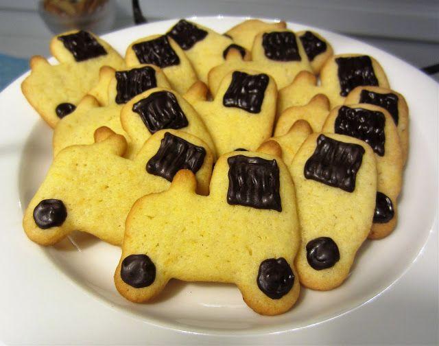 Herkkuja leipomassa: Appelsiini-murokeksit/ Orange Shortbread Cookies
