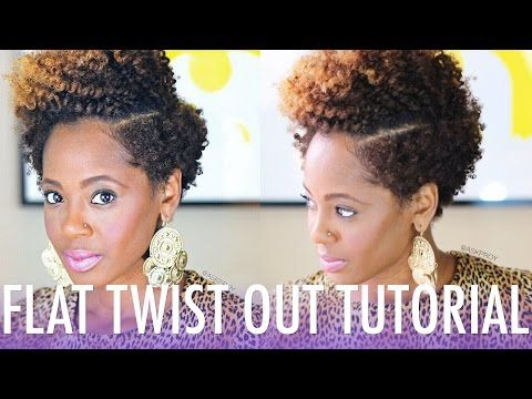 braid out styles short natural hair flat twist out tutorial ft bee mine products 6199 | 369e29861e87b260291740744a5bd69a