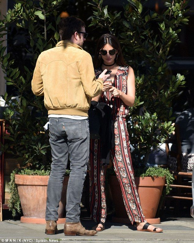 Day date: That same day, Lily was spotted at Italian restaurant Angelini Osteria in LA wit...