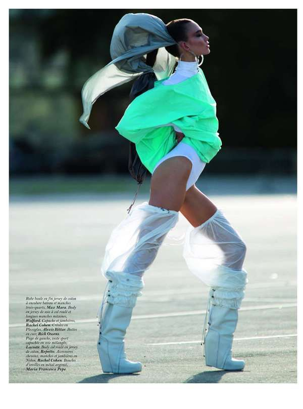 Karlie Kloss is a High Energy Enigma in the Vogue Paris March 2012 Shoot