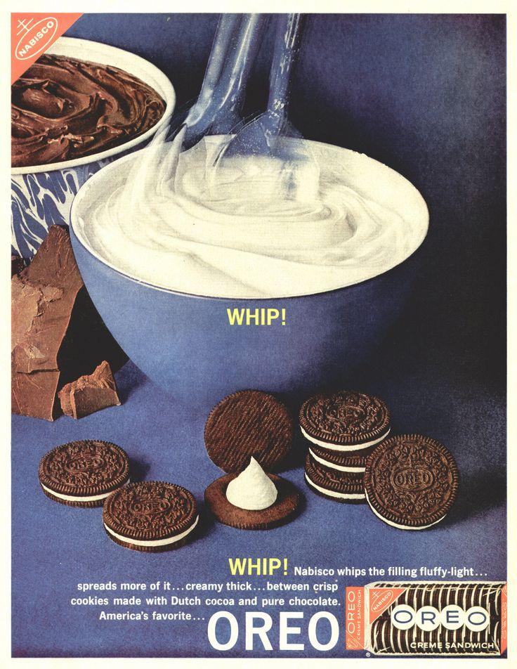 Nabisco Oreo Cookies 1962 Ad Picture