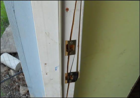Kicked In Door : Door frame how to repair a kicked in