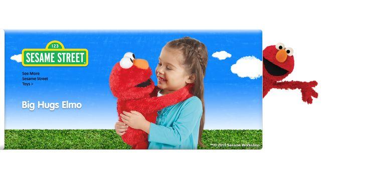 Big Hugs Elmo |Sesame Street Elmo | Elmo Toys | Playskool #gotitfree