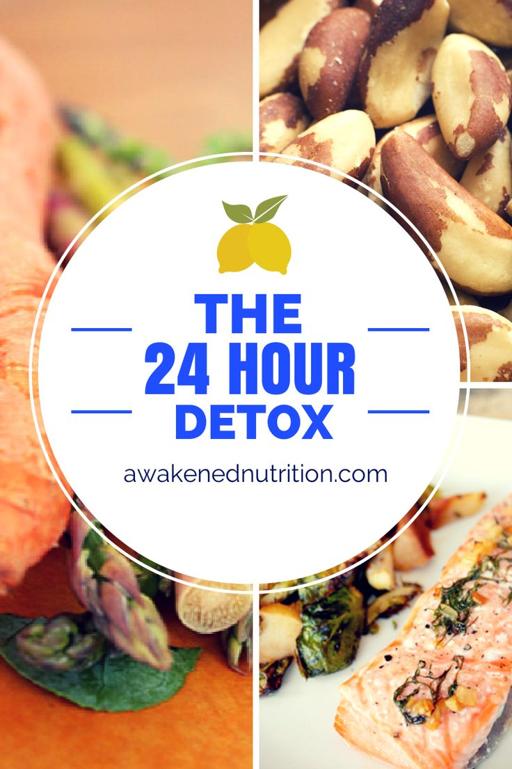 The 24-Hour Detox - Reboot yourself and boost your ability to detoxify in just 24 hours! via @awakenednandt #10dayspringdetox #detox