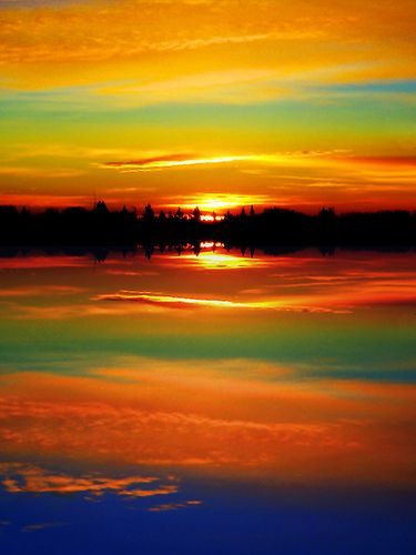 Surreal Sunrise   by EOSXTi
