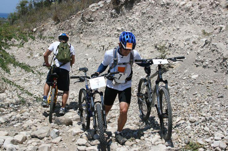MTB 10Km @ Master del Desierto 2008. Playa Salinas in Bani, Provincia Peravia