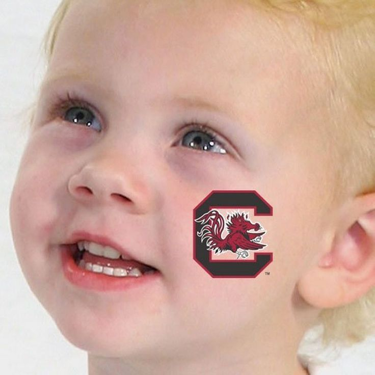 South Carolina Gamecocks Temporary Tattoos-