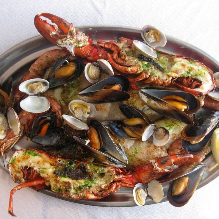 Parrillada de Pescado y Marisco, Restaurante Ca n'Eduardo, Palma de Mallorca, Majorca, Spain