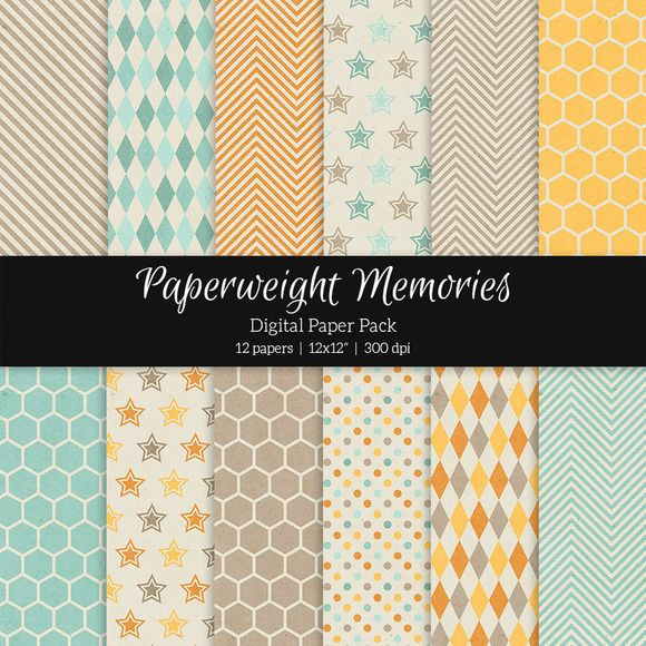 Patterned Paper - Harvest Field by Paperweight Memories on Creative Market (http://crtv.mk/s0FG8)