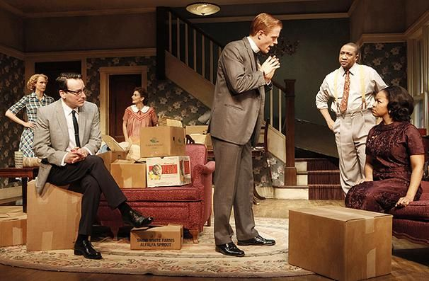 """Opening night tonight for Broadway's """"Clybourne Park."""""""