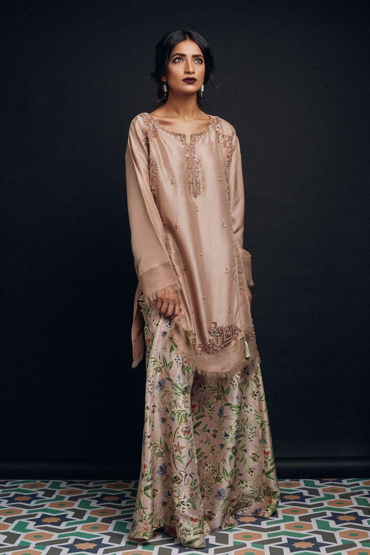 Modern dress of pakistan 2016 -  Zara Shahjahan Chambeli S S 2016